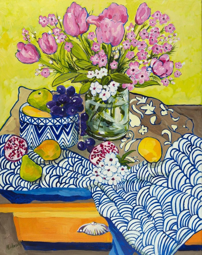 AOSE-Helen Dubrovich-Still Life with Tulips-N8gro