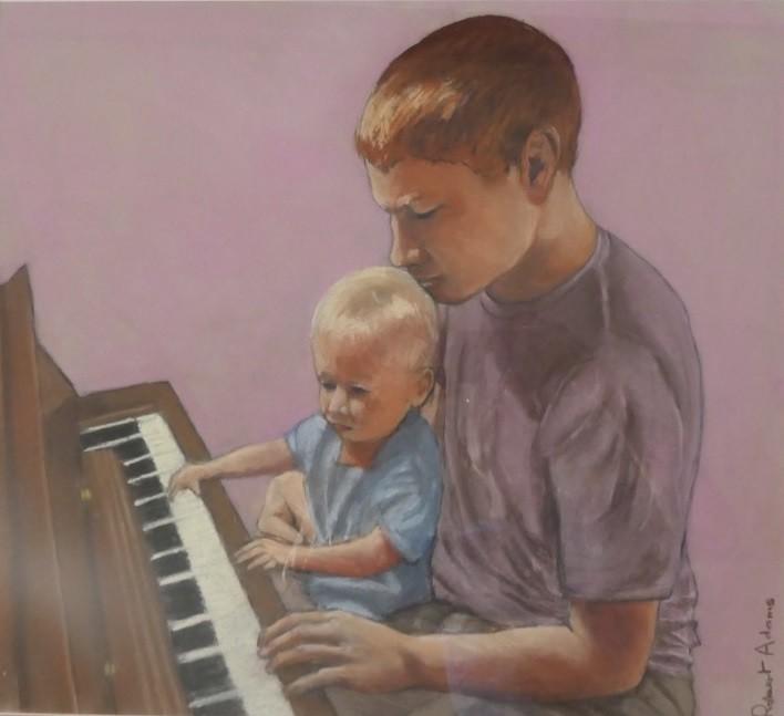 AOSE-Robert Adams- Cousins at the Piano-r6kDS