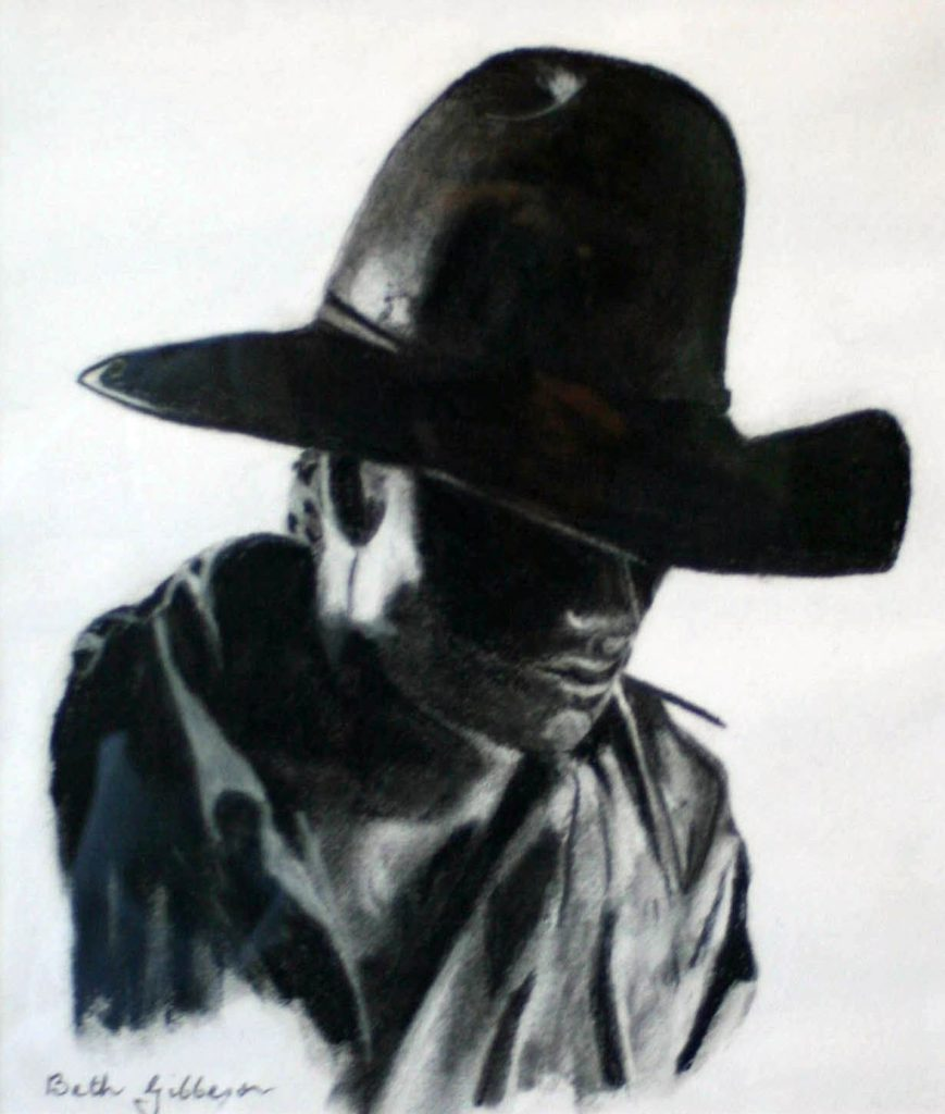 Gibbeson  B -The Drover unframed-WzYAO