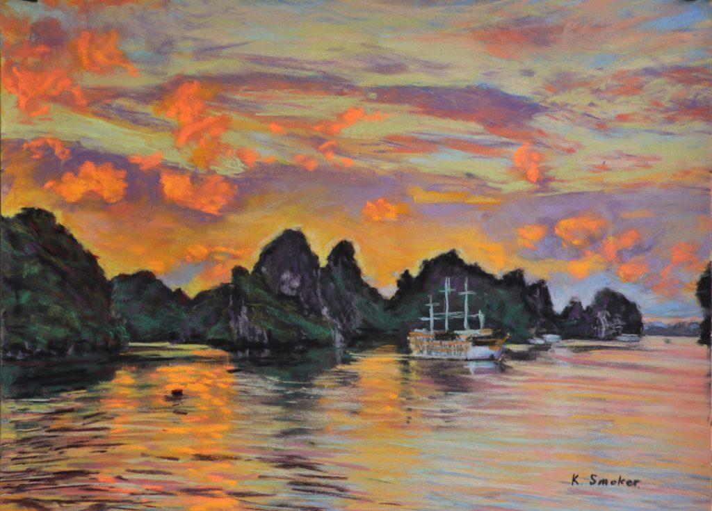 Halong Bay Sunset-Q7YS2