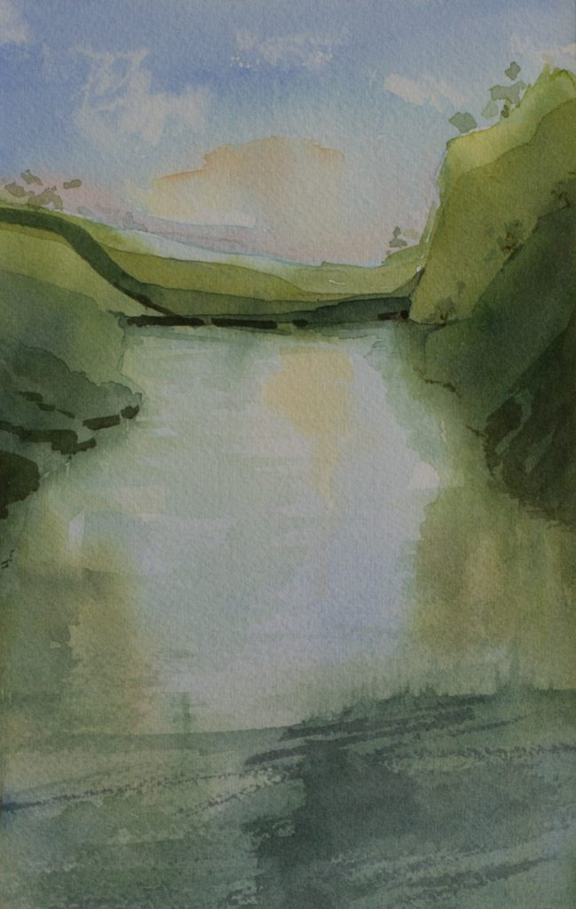 Lisle-sur-Tarn FRANCE watercolour IMG_9643 CASSsize-nGj8A