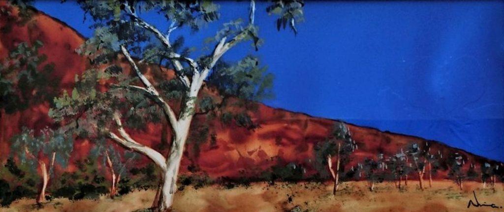 Outback on Yupo V – image only-uTmhL