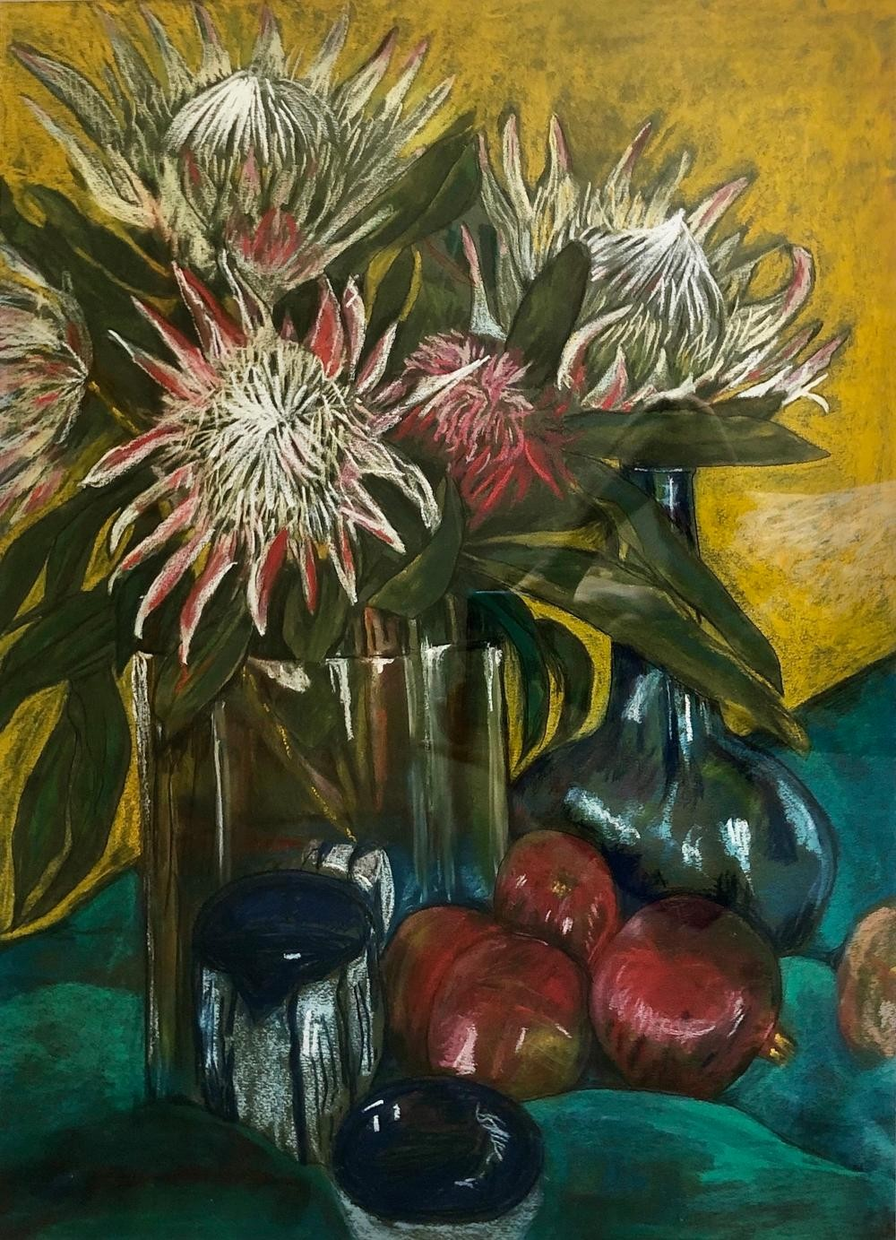 Still Life with Proteas