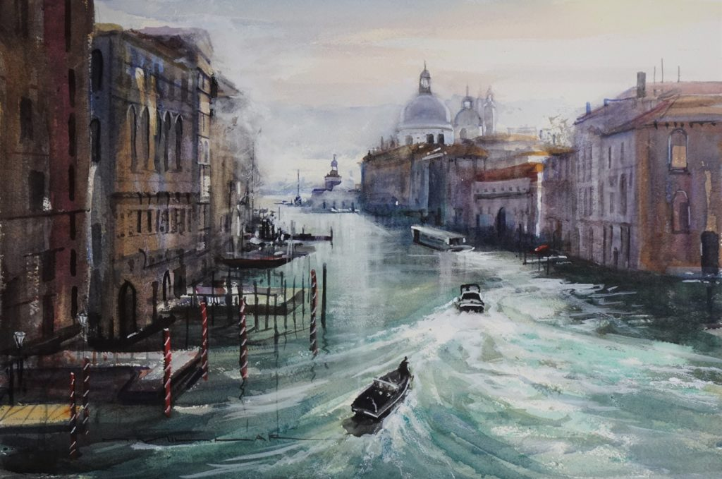 The Grand Canal – Venice-atBo7